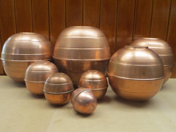 Boyas en cobre